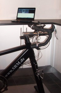 SRM cykel til test
